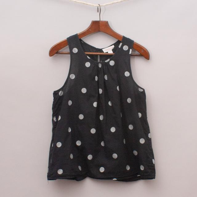 Country Road Polka Dot Singlet