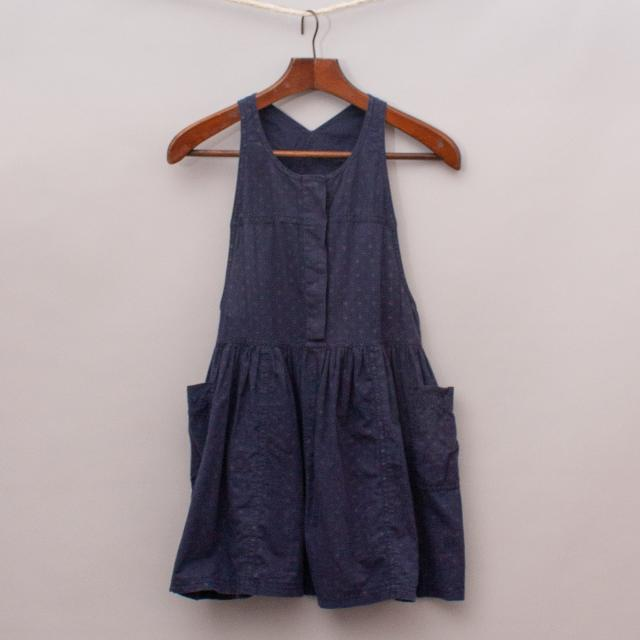 Country Road Navy Dress