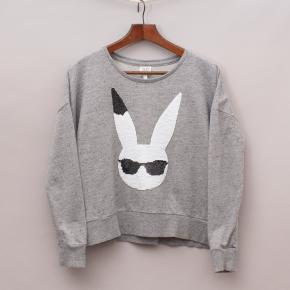 Seed Sequin Rabbit Jumper
