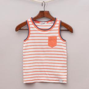 Country Road Striped Singlet