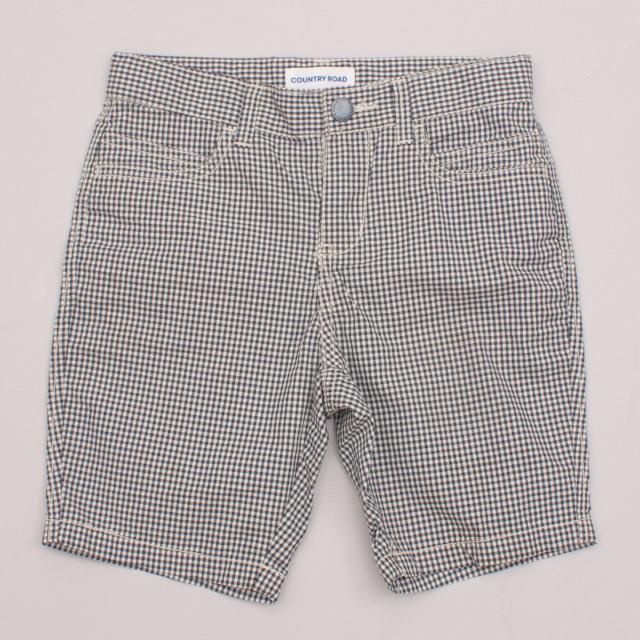 Country Road Check Shorts