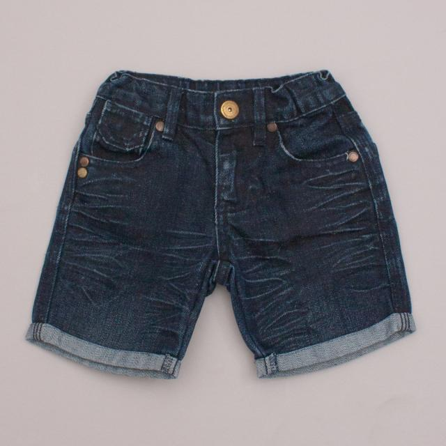 Little Rivet Denim Shorts