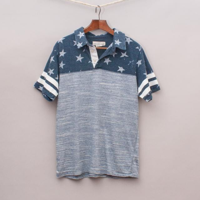 H&M Stars & Stripes Polo Shirt