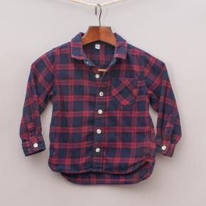 Muji Plaid Shirt