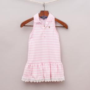 Ralph Lauren Striped Polo Dress