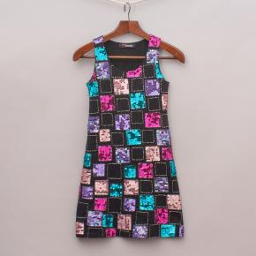 Rij Queen Sequin Dress