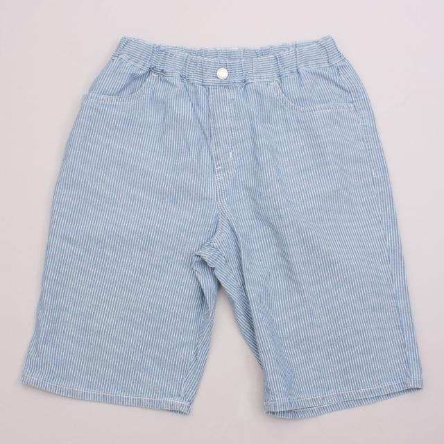 Uniqlo Pinstripe Shorts