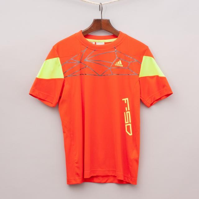 Adidas Orange Sports Jersey