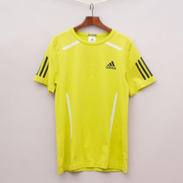 Adidas Lime Yellow Sports Jersey