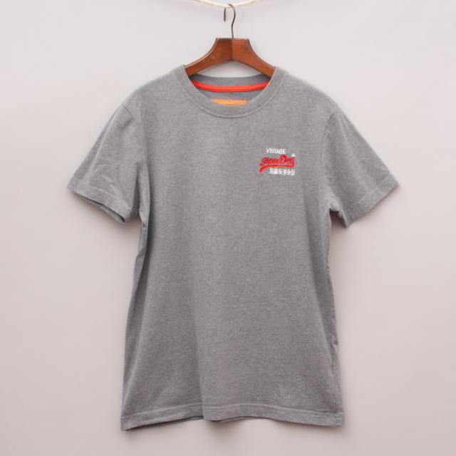 Superdry Grey T-Shirt