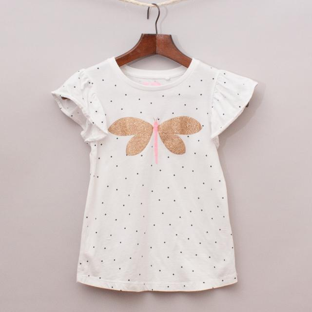 Cotton On Dragonfly T-Shirt