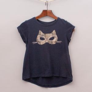 Cotton On Cat Mask T-Shirt