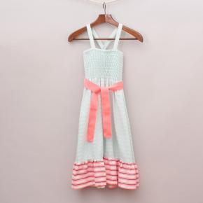 Cotton On Pink & Blue Dress
