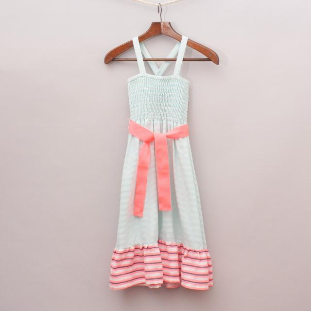 Cotton On Pink & Blue Dress