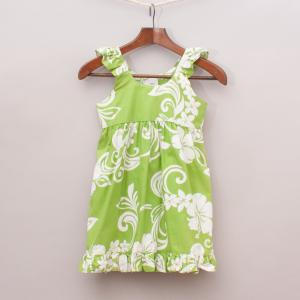 Island Wear Patterned Dress
