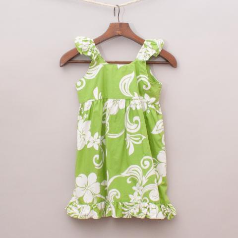 Island Wear Patterned Dress