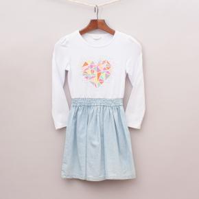 """Milkshake Heart Dress """"Brand New"""""""