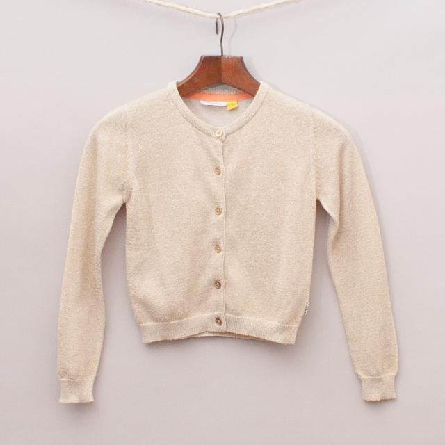 The Kidstore Metallic Cardigan