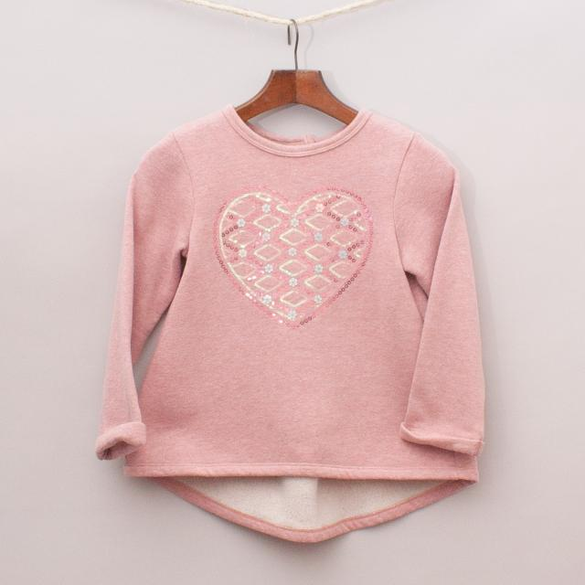 Milkshake Heart Jumper