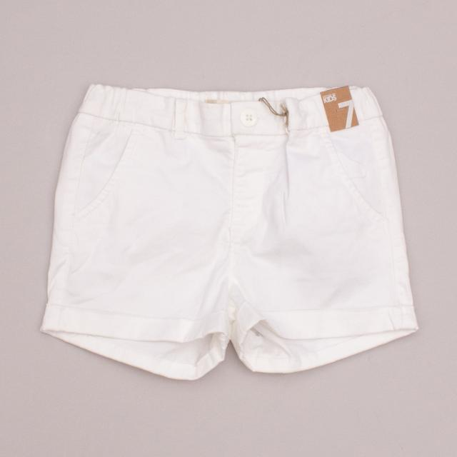 "Cotton On White Shorts ""Brand New"""