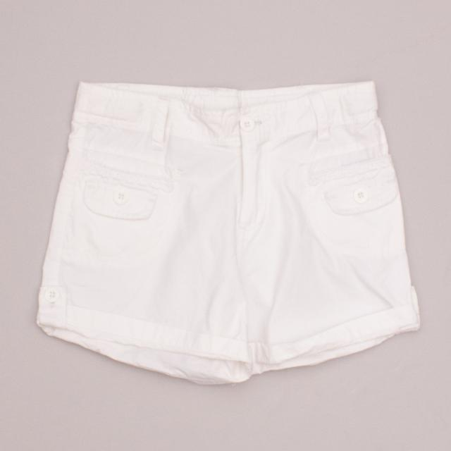 Milkshake White Shorts