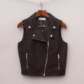 H&M Suede-Like Vest