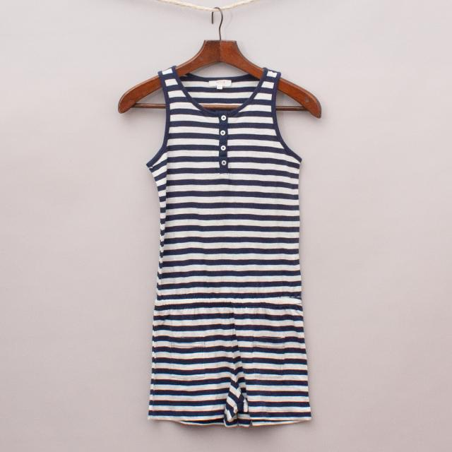 Seed Striped Playsuit