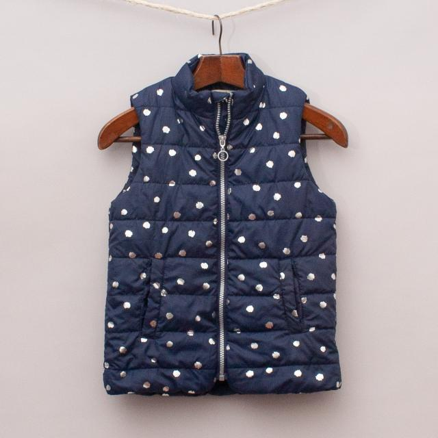 Lily & Dan Navy Vest