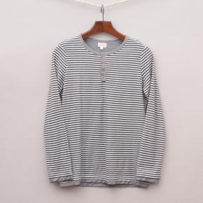 Seed Striped Long Sleeve Top