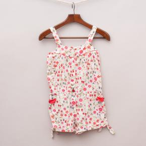 Jacadi Floral Playsuit