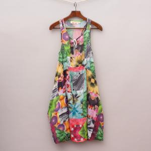 Gumboots Floral Swing Dress