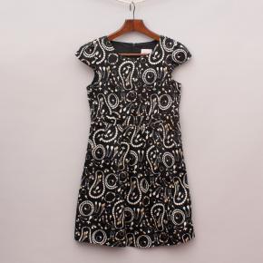 Miss Leona Patterned Dress