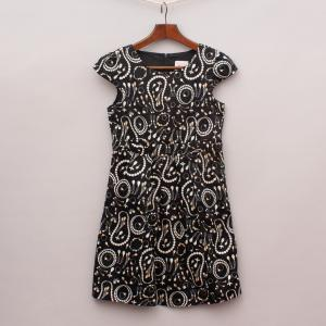 Miss Leona Patterned Dress