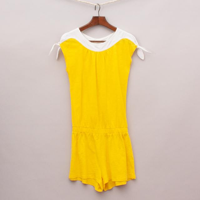 Country Road Yellow Playsuit