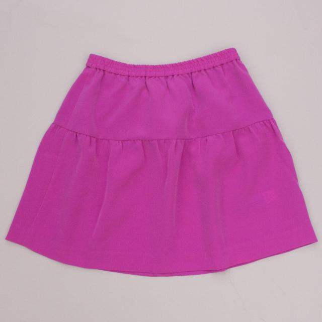 J Crew Fuchsia Skirt