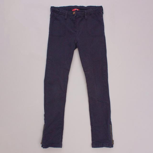 Rhubarb Navy Blue Jeans