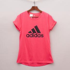 "Adidas Pink T-Shirt ""Brand New"""