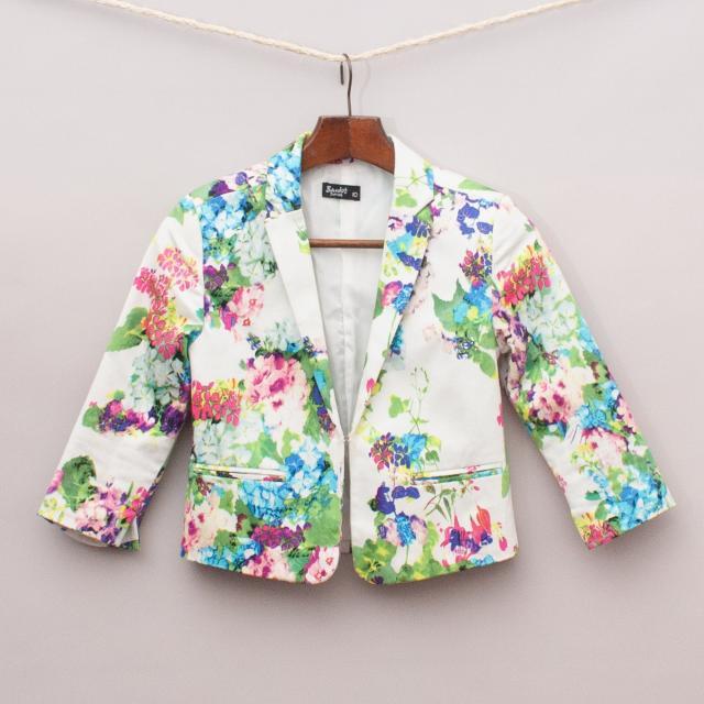 Bardot Floral Blazer
