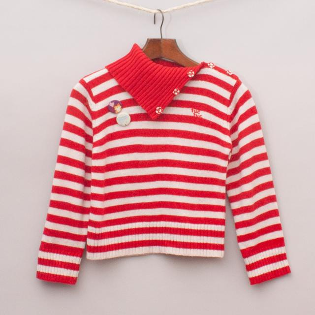 Tuc Tuc Striped Jumper