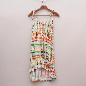 Bardot Tie-Dye Dress