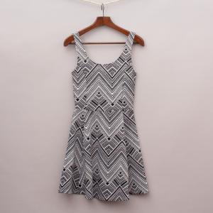 H&M Zig-Zag Dress