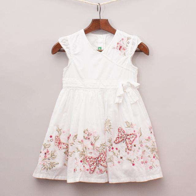 Cichlid Embroidered Dress