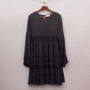 Gumboots Charcoal Dress