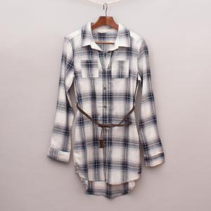 Lee Cooper Plaid Dress