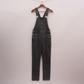 H&M Charcoal Overalls