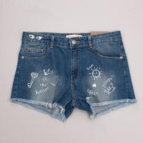 "Zara Distressed Denim Shorts ""Brand New"""