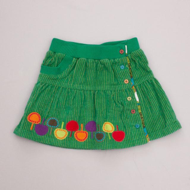 Tuc Tuc Corduroy Skirt