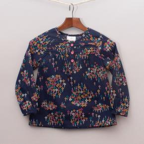 Hanna Anderson Patterned Blouse