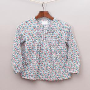 Hanna Anderson Floral Blouse