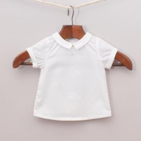 """Jacadi White Collared Shirt """"Brand New"""""""